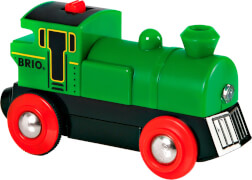 BRIO 63359500 Speedy Green Batterielok