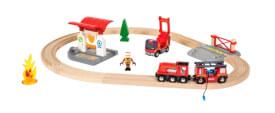 BRIO 63381500 Bahn Feuerwehr Set