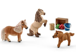 Schleich Horse Club - 41432 Mini Shetty Pony Familie, ab 3 Jahre