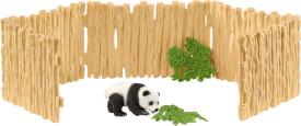 Schleich Wild Life 42429 Gehege für Pandabären, ab 3 Jahre