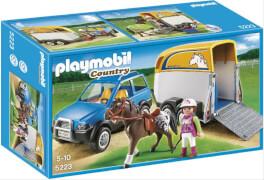Playmobil 5223 PKW mit Pferdeanhänger
