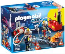 PLAYMOBIL 5365 Feuerwehrmänner mit Löschpumpe