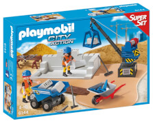 Playmobil 6144 Super Set Baustelle