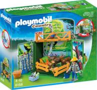 Playmobil 6158 Aufklapp-Spiel-Box Waldtierfütterung