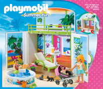 Playmobil 6159 Aufklapp-Spiel-Box Sonnenterrasse