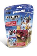 Playmobil 6163 Rote App-Kanone mit Freibeuter