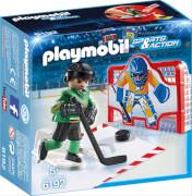 Playmobil 6192 - Eishockey-Tortraining, ca. 14x7x14, ab 5 Jahren