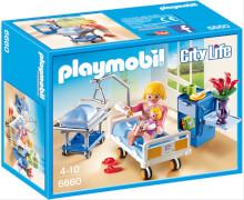 Playmobil 6660 Krankenzimmer mit Babybett, ca. 7x19x14, ab 4 Jahren