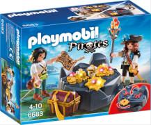 Playmobil 6683 Piraten-Schatzversteck, ca. 7x19x14, ab 4 Jahren