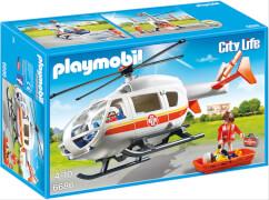 Playmobil 6686 Rettungshelikopter, ca. 13x39x25, ab 4 Jahren