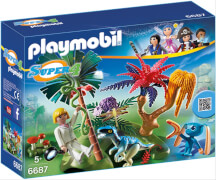 Playmobil 6687 Lost Island mit Alien und Rap