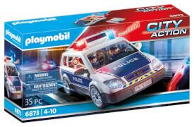 PLAYMOBIL 6873 Polizei-Einsatzwagen, ca. 25x13x11, ab 4 Jahren