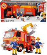 Simba Feuerwehrmann Sam - Feuerwehrauto Jupiter inkl. Licht/Sound und Zubehör, Kunststoff, ca. 28 cm, ab 3 Jahre