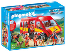 Playmobil 9125 Rettungshundestaffel mit Licht und Sound