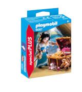 Playmobil 9087 Piratin mit Schatztruhe