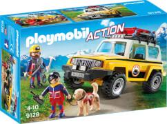 Playmobil 9128 Bergretter-Einsatzfahrzeug