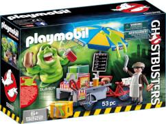 Playmobil 9222 Slimer mit Hot Dog Stand