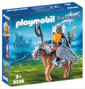 PLAYMOBIL 9345 Zwerg und Pony mit Rüstung