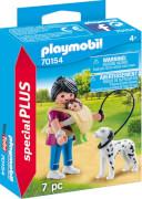 PLAYMOBIL 70154 Mama mit Baby und Hund