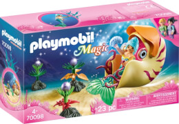 PLAYMOBIL 70098 Meerjungfrau mit Schneckengondel