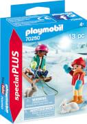 PLAYMOBIL 70250 Kinder mit Schlitten