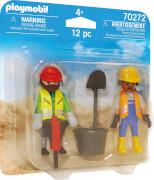 PLAYMOBIL 70272 Zwei Bauarbeiter