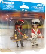 PLAYMOBIL 70273 Piratenkapitän und Rotrock