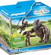 PLAYMOBIL 70360 Gorilla mit Babys