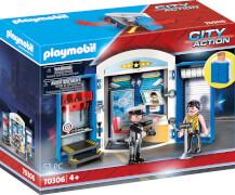 PLAYMOBIL 70306 Spielbox ''In der Polizeistation''