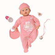 Zapf Baby Annabell Puppe mit Funktion, 46 cm