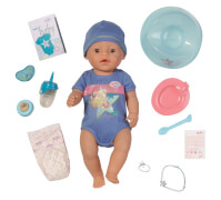 Zapf BABY born Puppe Interactive Junge