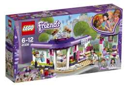 LEGO® Friends 41336 Emmas Künstlercafé, 378 Teile, ab 6 Jahre