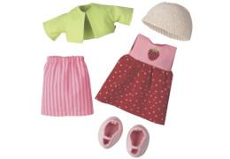 HABA - Kleiderset Erdbeere, 6-teilig