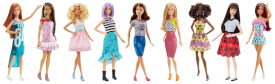 Mattel Barbie Fashionistas Sortiment