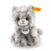 Steiff Minka Kätzchen, grau gestreift, 17 cm
