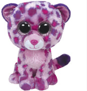 Ty Glamour-Leopard pink, ca. 15 cm
