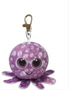 Ty Clip - Glubschi's Beanie Boo's - Octopus mit Glitzeraugen - pink / violett