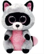 Ty Rocco Buddy-Waschbär pink / grau, ca. 24 cm