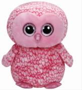 Ty Pinky Boo-Eule pink, ca. 42cm