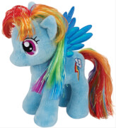Ty My Little Pony Plüsch Baby-Rainbow Dash, ca. 15 cm