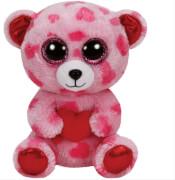 Sweetikins - rosa Bär mit Herzen, 15cm