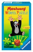 Ravensburger 231188  Der Maulwurf Würfelpuzzle Mitbringspiel