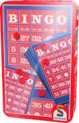 Schmidt Spiele 51220 Bingo, Mitbringspiel in der Metalldose, 3 bis 10 Spieler, ab 8 Jahre