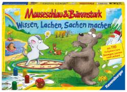 Ravensburger 21298 Mauseschlau & Bärenstark Wissen, Lachen, Sachen machen