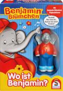 Schmidt Spiele 40580 Benjamin Blümchen, Wo ist Benjamin?, 2 bis 4 Spieler, ab 15 Monate