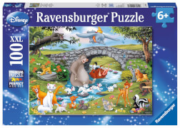 Ravensburger 10947 Puzzle Die Familie der Animal Friends 100 Teile