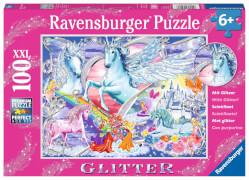 Ravensburger 13928 Puzzle Die schönsten Einhörner 100 Teile