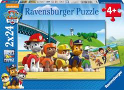 Ravensburger 09064 Puzzle Paw Patrol Heldenhafte Hunde 2x27 Teile