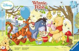 Ravensburger 060184 Rahmenpuzzle Disney Winnie Pooh - Winnies Honigparty 15 Teile