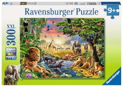 Ravensburger 13073 Puzzle Abendsonne am Wasserloch 300 Teile